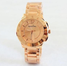 2016 PANDORAS news steel belt fashion new watches wristwatches Rose Gold Color