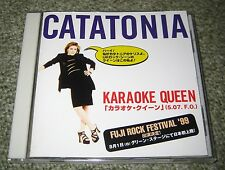 CATATONIA Japan PROMO ONLY CD Karaoke Queen CERYS MATTHEWS 13 tracks inc 2 LIVE!