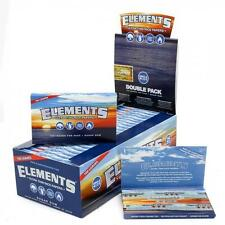 Elements Single Wide 1.0 Ultra Thin Rice Cigarette Rolling Papers - Full Retail