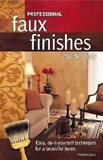 Professional Faux Finishes Made Easy