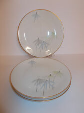 3 x Vintage Hutschenreuther Selb China Side Plates Diadem Germany Lovely