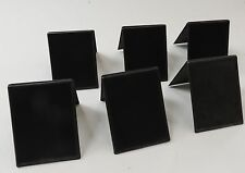 6 NEW Mini Chalkboard Signs Tent Sign Wedding Table Markers Party