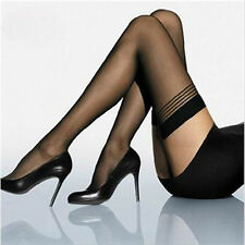 Fashion Fancy Women Sexy Black Lace Top Stay Up Thigh-Highs Stockings Tights