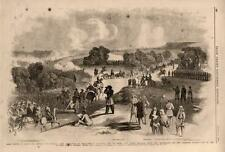 Battle of Bull's Run  -  Bull Run  -   Civil War  -  1861