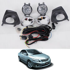 11-13 For Toyota Corolla Altis Sedan Spot Lights Lamp Fog Lamps Chrome Cover