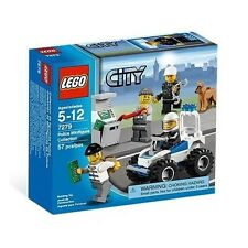 Lego Town City 7279 Police Miinifigure Collection Robber Dog Prisoner NISB Rare!