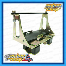 Go Kart BATTERY HOLDER Assembly Mounted CHASSIS BRACKET Rotax Max 125 & TaG