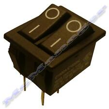 Alimentación principal Double/Twin SPST Rocker Switch 2x On-off