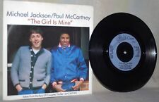 "The Beatles-Paul McCartney & Michael Jackson-45 RPM-7""-Epic-""The Girl is Mine"""