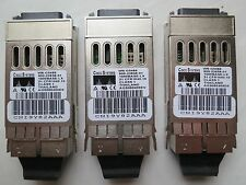 3 x CISCO Fiber Optic Transceiver CNI9Y82AAA  WS-G5486 1000BASE-LX 21 CFR1040.10