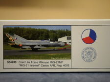 Herpa Wings 1:200 MiG-21 Czech AF, farewell col