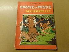 STRIP / SUSKE EN WISKE 65: DE VLIEGENDE AAP   Herdruk 1966
