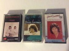 """LOT K7 audio """"GÉRARD LENORMAN """" ...d'amour...collection d'or...disque d'or"""