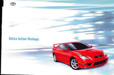 2001 2002 Toyota Celica Action Package TRD Original Car Sales Brochure