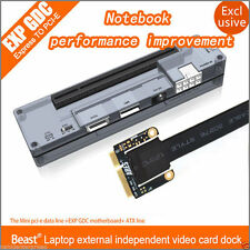 V8.0 EXP GDC Beast Laptop External Independent Video Card Dock Mini PCI-E Vers