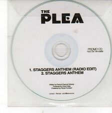 (DV88) The Plea, Staggers Anthem - 2012 DJ CD