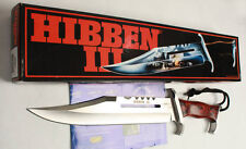 HOT!  RAMBO III SIGN Licensed JUNGLE RESCUE SURVIVAL HUNTING BOWIE COMBAT KNIFE
