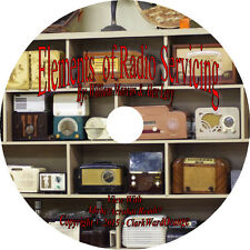 Elements of Radio Servicing OTR Old Time Radio How to Repair Book on CD