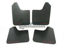 Rally Armor Universal Basic Mud Flaps Black with Red Logo Car/Truck/SUV ALL NEW