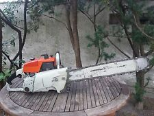 "Stihl 070 Vintage Chainsaw (contra, 070 & 090) Nice, Collectible! 25"" STIHL Bar!"