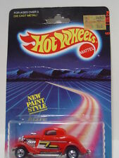 HOT WHEELS 1986 3 WINDOW 34 STOCK NO. 1473 WITH ZZ -TOP TAMPOS