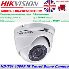 Hikvision DS-2CE56D0T-IRM 2MP 3.6MM Turbo TVI HD 1080p 20M IR IP66 Dome Camera