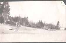 VINTAGE PHOTOGRAPH 1901 SOLON SPRINGS WISCONSIN VIEW OF HOMES OLD PHOTO