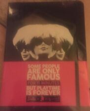 BARBIE ANDY WARHOL JOURNAL SOME PEOPLE ARE ONLY FAMOUS 15 MIN NEW