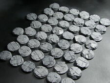 32 mm  Rubble Block Bases lot of 50 New Space Marine Size