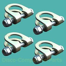 Land Rover Discovery 1 Track Rod End Ball Joint Clamp & Bolt  Kit x 4