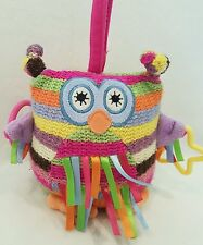 JELLYCAT SOFT TOY NEW BABY ACTIVITY COMFORTER RATTLE OWL