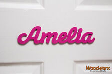 Personalised Names / Wooden Name Plaques / Door Sign / Bedroom Door #12