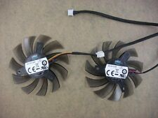 75mm Twin Frozr Dual Fan For Gigabyte GTX465 GTX460 3Pin 40mm 0.30A 3019