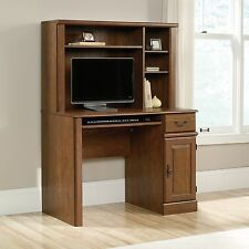 Computer Desk With Hutch - Milled Cherry - Orchard Hills Collection (418649)