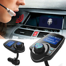 T10 Handsfree Car Kit Wireless Bluetooth FM Transmitter MP3 Player USB LCD