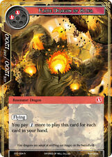 Force of Will TCG  x 4 Flame Dragon of Altea [CFC-024 R] English [NM-Mint]
