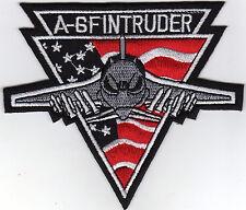 Aufnäher Bügelbild Iron on Patches A-6F Intruder Abzeichen USA Jet Fighter(a4g6)
