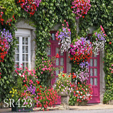 Outdoor Spring 8'x8' Computer-painted Scenic Photo Background Backdrop SR423B881