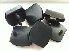 6 x Plastic slats center caps for metal, leather beds etc..(51 mm - 53 mm wide)