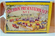 "Matchbox ""Presentation Set No.1"" USA 1957 komplett, extrem selten"