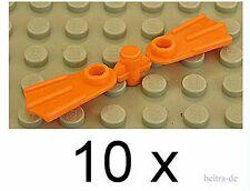 LEGO - 20 x Taucherflosse / Taucherflossen orange ( 10 Paare) / 2599 NEUWARE