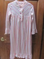 American Girl CL KIT'S STRIPED NIGHTIE SIZE MED for Girls NWTS Pajamas Nightgown