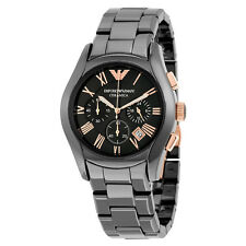 Emporio Armani Large Ceramic Chronograph Mens Watch AR1410