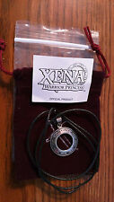 Xena Sterling Silver Original Chakram Necklace/Pendant With Bag - NEW! LOOK!