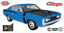 New! Collectable Chrysler VH Valiant Charger R/T - BLUE