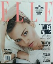 Elle October 2016 Miley Cyrus Fashion The Runway FREE SHIPPING
