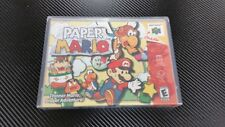 Paper Mario Nintendo 64 N64 New Case with Free Artwork * NO GAME *