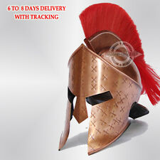 Medieval King Leonidas Helmet Roman Spartan 300 Movie Helmet Collectible EDH