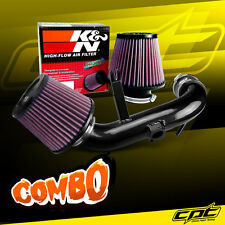 11-13 Mitsubishi Outlander Sport 2.0L Black Cold Air Intake + K&N Air Filter