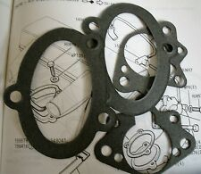 TRIUMPH STAG V8 3 LT NEW FULL SET OF ELBOW TO CARBURETTOR & AIR BOX GASKETS